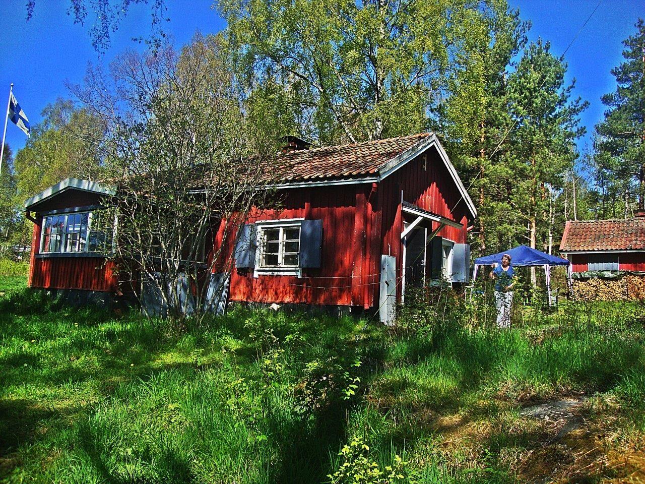 Vuosaari-Seuran asukastalo, Sjökullan torppa. Kuva: Matti Pöhö.