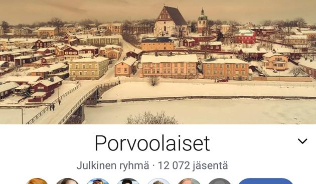 Porvoolaiset Facebook