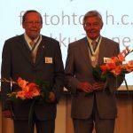 Markku Tanner ja Pekka Laaksonen. Kuva: Anna-Maija Halme