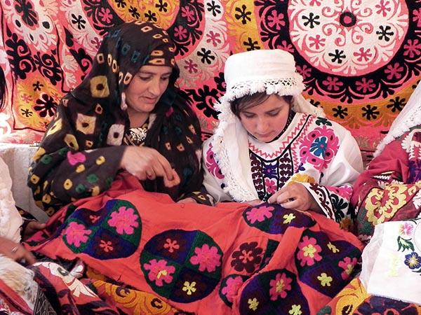 Tadzhikistan, kirjonta, aineeton kulttuuriperintö, Unesco