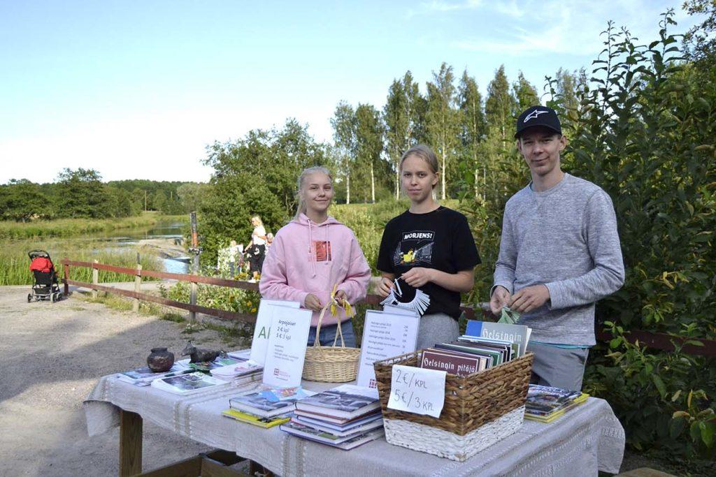 Kesätyö Vantaa-Seura, kotiseutuyhdistys nuoret nuorten työllistäminen työllisyys kolmas sektori