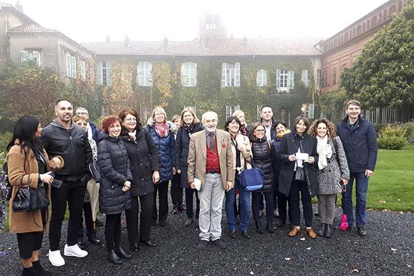 FINCH-hankkeen osanottajien ryhmäkuva