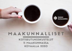 Kaksi kahvikuppia - tapaa maakunnallisissa kokouksissa