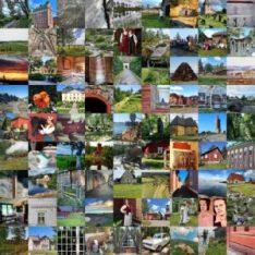 Kooste kymmenistä valokuvista.