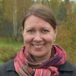 Kuva Riina Koivistosta maisemassa.